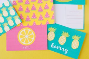 Free Printable Summer Post Cards