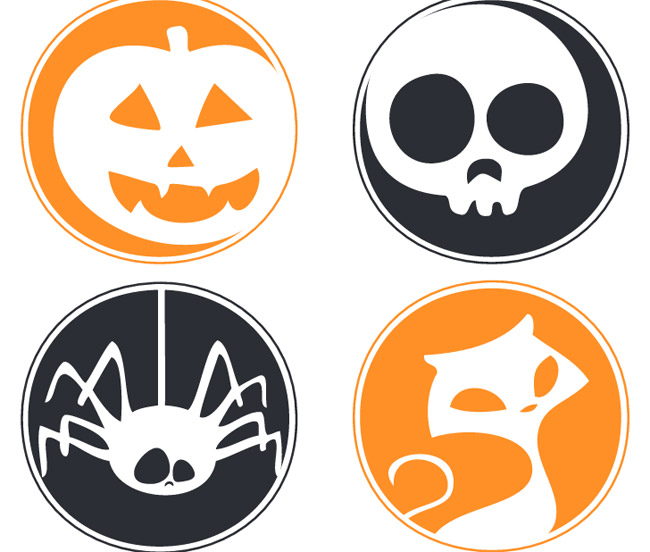 image about Free Halloween Printable referred to as Totally free Printable Halloween Garland