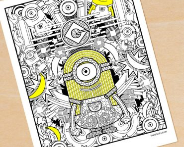 minion-adult-coloring-page