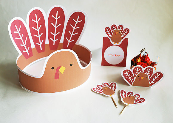 Free Super Fun Thanksgiving Printables for Kids
