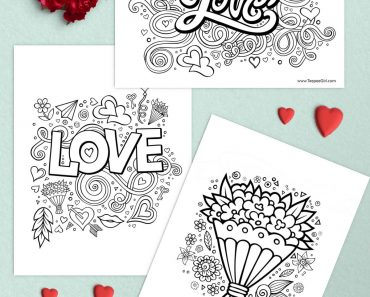 Free-Valentine-Coloring-Pages