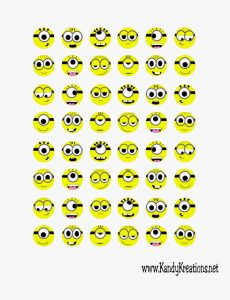 Minion Kisses by Kandy Kreations