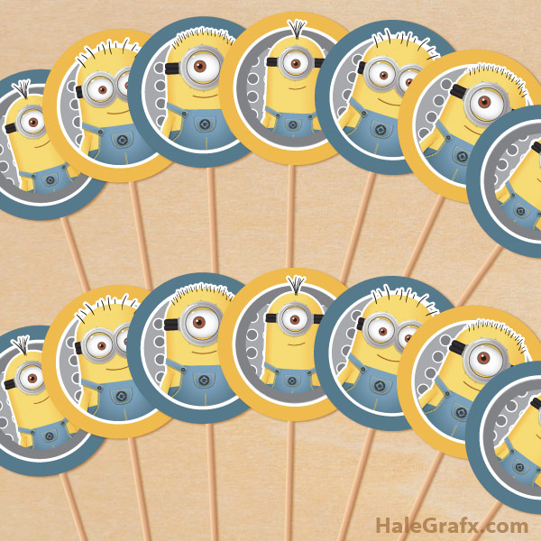 picture regarding Minion Logo Printable named 15 Totally free Minion Printables