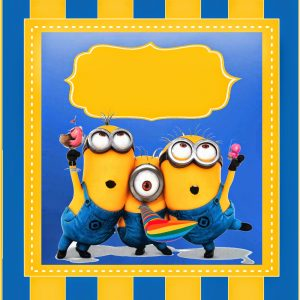 photograph relating to Printable Minions known as 15 Totally free Minion Printables
