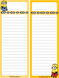 minion-checklist