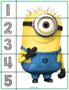photo relating to Printable Minion named 15 Free of charge Minion Printables