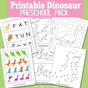 Free-Printable-Dinosaur-Pack-for-Preschool
