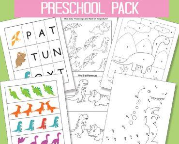 Free-Printable-Dinosaur-Pack-for-Preschool