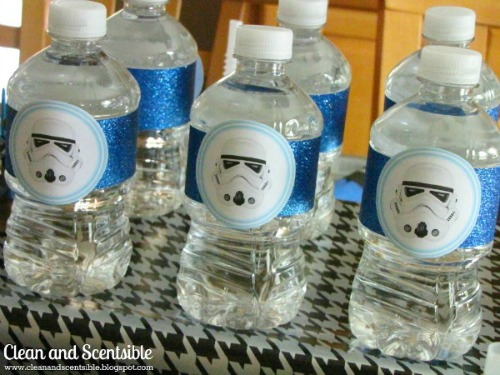 Free Printable Star Wars Storm Trooper Party Tags