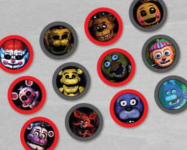 five-nights-freddys-cupcake-toppers
