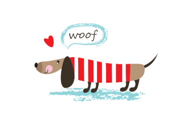 Free Printable Dachshund Dog Thank You Card