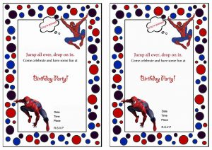 Free printable spiderman birthday invitations free printables free printable spiderman birthday invitations filmwisefo