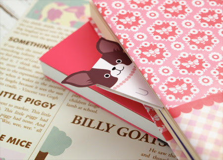Free Printable Dog Bookmarks