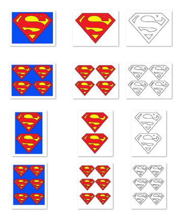 Free Printable Superman Logo