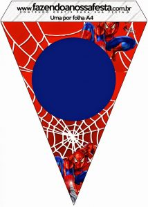 Free Printable Spider-man Banner
