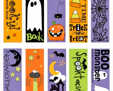 Halloween Bookmark