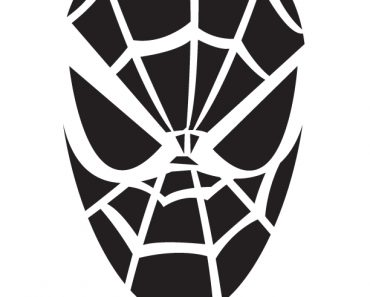 Spiderman_pumpkin_stencil