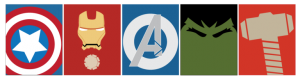 Free Printable Avengers Mini Posters