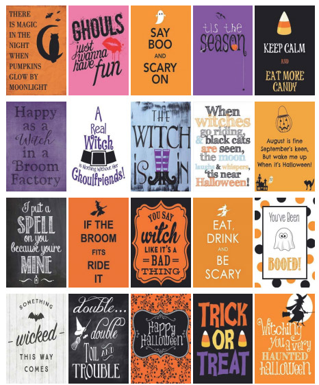 image regarding Halloween Stickers Printable called Cost-free Printable Halloween Planner Stickers