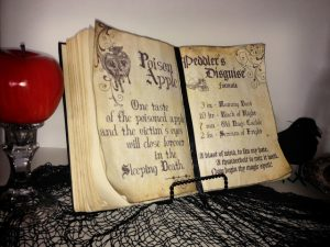 Free Printable Halloween Spell Book Pages