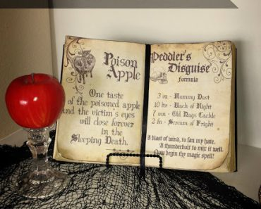 image relating to Printable Spell Book Pages named Halloween