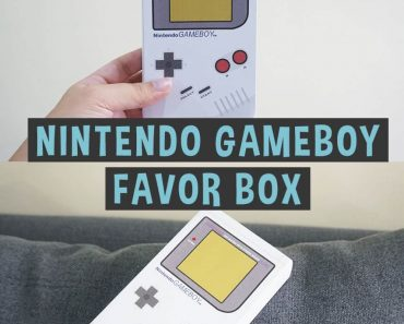 Nintendo-Favor-Box